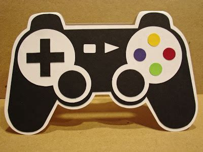 controller card template lsey card creations gamer card