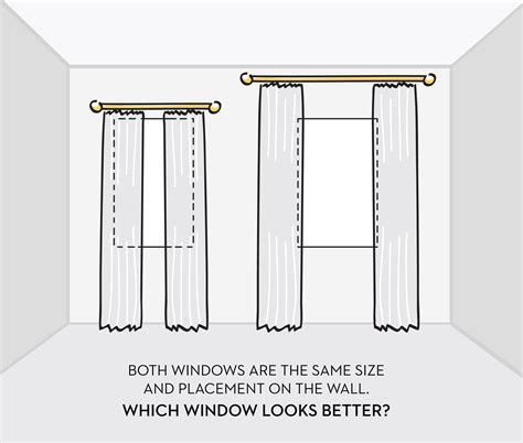 how high to hang curtain rods above window how to hang curtains properly geranium blog