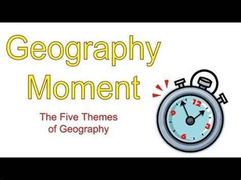 themes of geography youtube 17 best images about geography on pinterest latitude