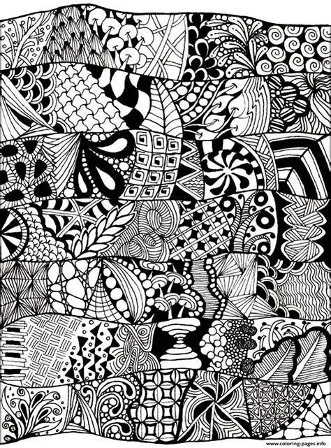 zen coloring pages printable adult zen anti stress abstract to print coloring pages