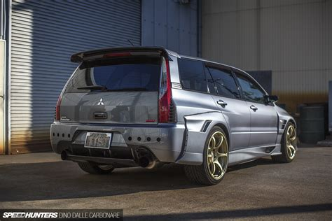 mitsubishi evo wagon the ct9w lancer evolution ix mr wagon dual exhaust and