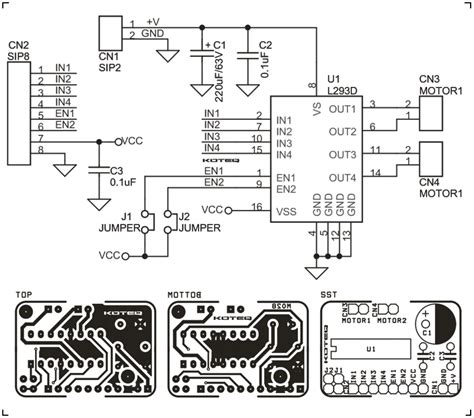 motor driver l293 motor driver stepper archives page 2 of 2 circuit