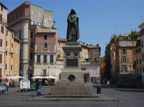 piazza di fiore co de fiori a roma