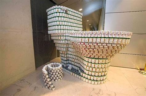 simple canstruction ideas hacked by idbte4m id 187 archive 187 canstruction stacked can