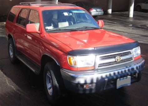 manual cars for sale 2000 toyota 4runner user handbook purchase used 2000 toyota 4runner sr5 4x4 v6 manual 148k red in oakland california united states