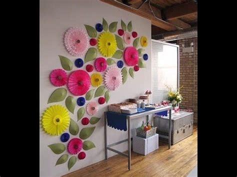 membuat aneka hiasan dinding cara membuat hiasan origami untuk dinding youtube