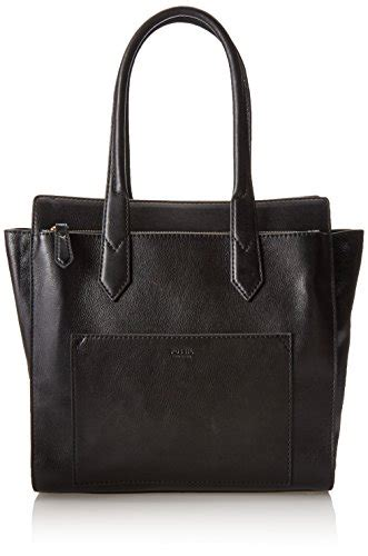 Fossil Mallory Black fossil leather shoulder bag black one size top fashion web