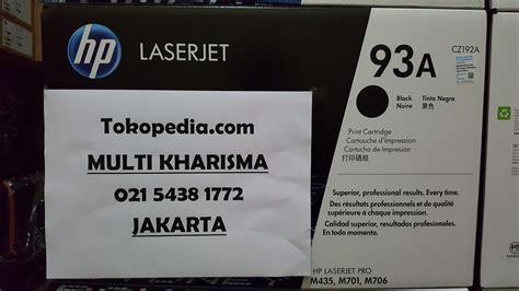 Toner Hp Laserjet 93a Cz192a jual cz192a hp 93a black original laserjet toner cartridge multi kharisma