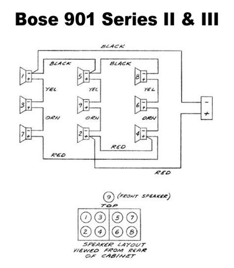 Bose 901 Speaker Restoration 171 Solid Orange