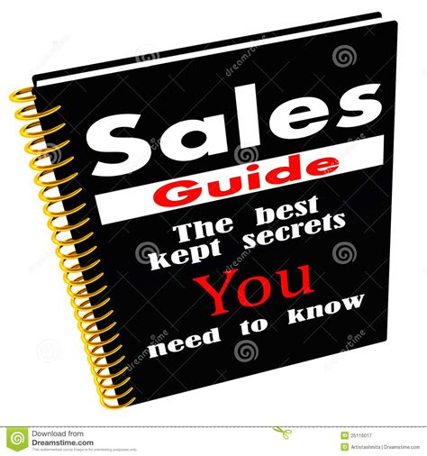 exactly how to sell the sales guide for non sales professionals books sales guide of secrets stock illustration illustration of