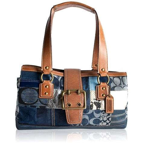 Coach Patchwork Handbag - coach patchwork satchel handbag
