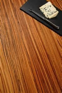 arbeitsplatte zebrano arbeitsplatten muster durchgehende lamellen zebrano