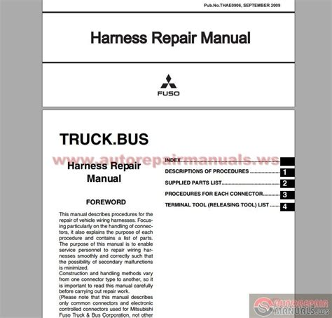 auto repair manual online 1993 mitsubishi truck on board diagnostic system mitsubishi truck bus harness repair manual auto repair manual forum heavy equipment forums