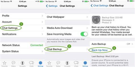 recuperar imagenes antiguas whatsapp c 243 mo recuperar conversaci 243 n de whatsapp borrada en mi iphone