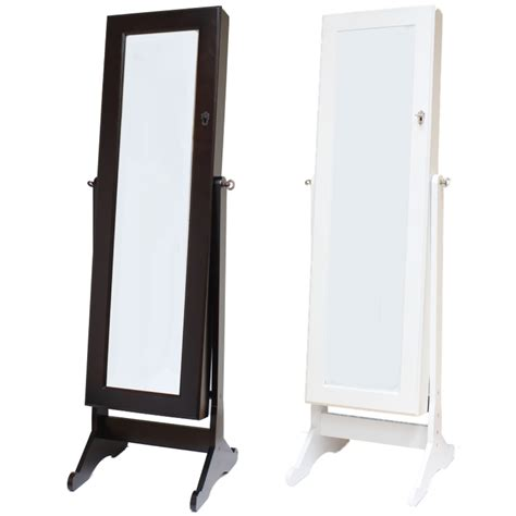 Cheap White Armoire Full Length Stand Alone Mirrors Mirror Ideas