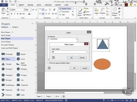 visio layer microsoft visio 2013 tutorial use visio layers vtc