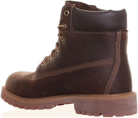 timberland 6 inch junior womens ankle boots uk size 3 7