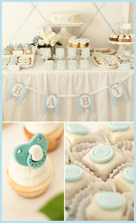 Fantastic Boy Baby Shower Dessert Tables   Design Dazzle