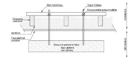 Tige Filetée Faux Plafond by Faux Plafond Coupe Isolation Id 233 Es