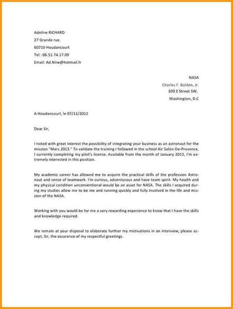 Présentation Lettre Commerciale Anglais 9 Exemple Lettre Anglais Lettre Administrative