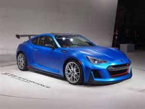 Subaru Brz Sti Horsepower Subaru 2016 Brz Sti Performance Concept New York Show