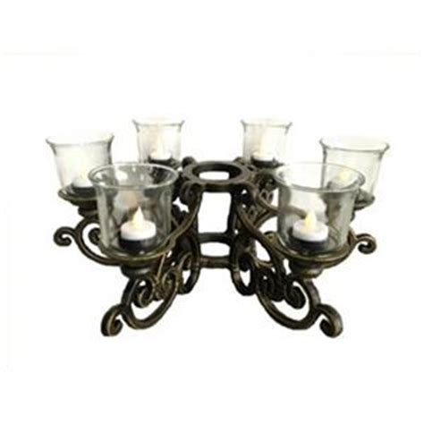 Patio Table Candle Holders Patio Table Umbrella Aluminum Candelabra Candle Holder