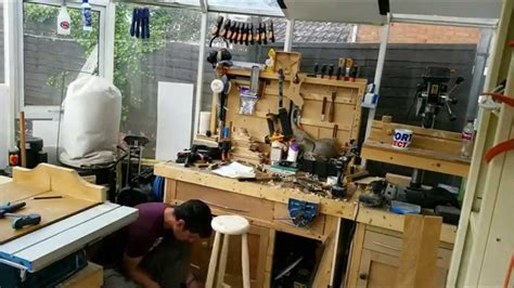 build  bar stool    hand tools summers