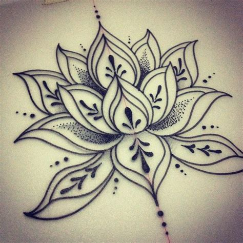 25 beautiful lotus mandala design ideas on pinterest