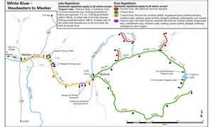 meeker colorado map meeker chamber of commerce fishing