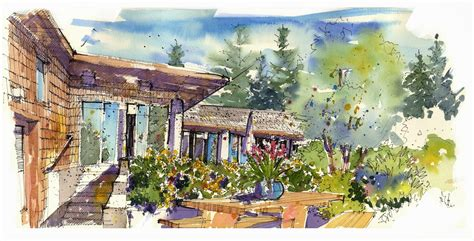 a whidbey island home is out of the box and grounded in nature whidbey island sketchers beautiful whidbey island house