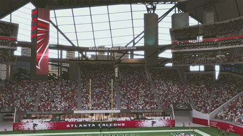 what is section 17 atlanta s mercedes benz stadium makes its debut in madden