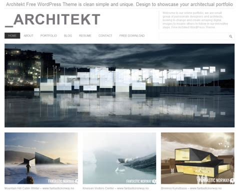 architecture portfolio templates top free themes for wpmayor