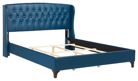 navy blue bed frame navy blue bed frame 28 images chic home napoleon navy blue bonded leather button