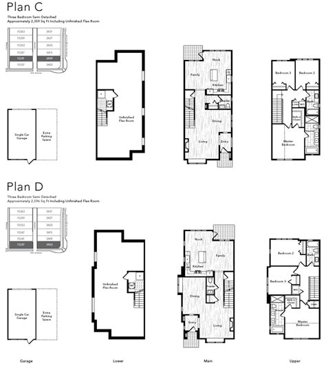 semi attached house plans attached home plans ideas picture