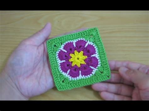 tutorial merajut crochet crochet tutorial merajut granny square african flower