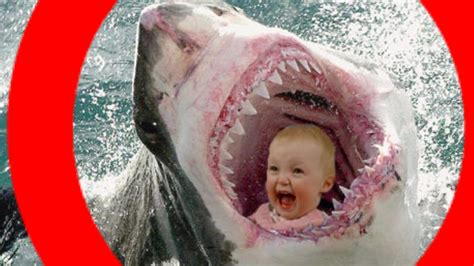 baby shark attack shark attack caught on video tape toddler swallowed