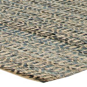 denim blue flat weave rug n10920 by doris leslie blau