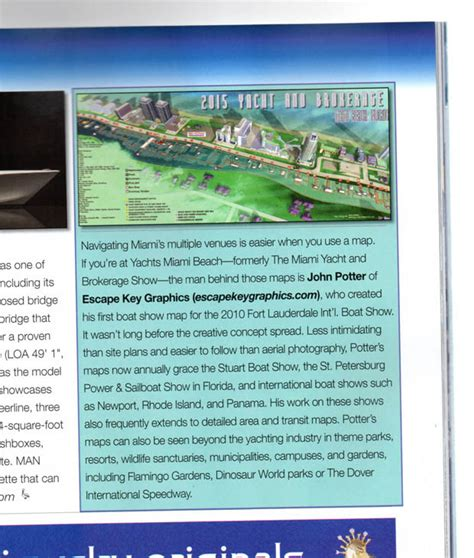 southern boating magazine boat show maps article southern boating magazine article