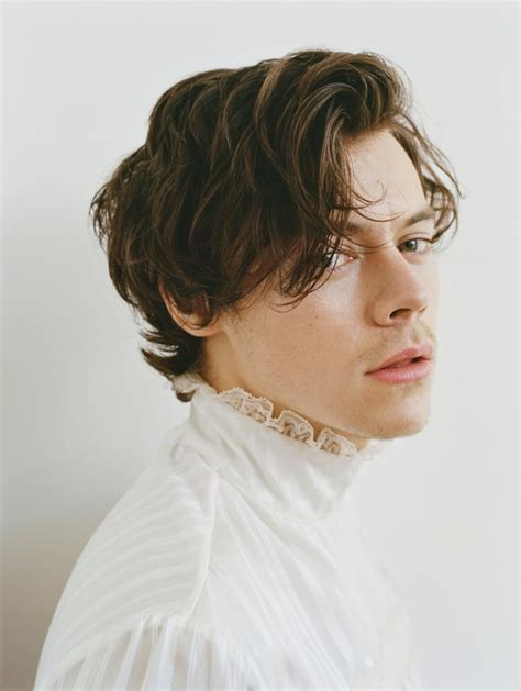 rolling hair styles harry styles for rolling stone talks new album
