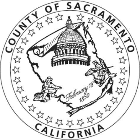 Sacramento County Records Sacramento County Seal Image