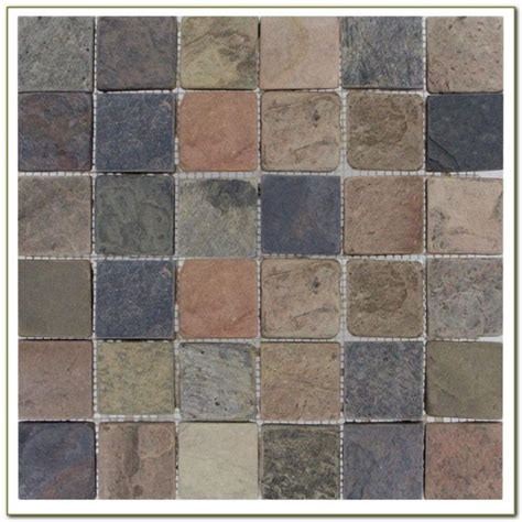 slate tile concrete patio patios home decorating