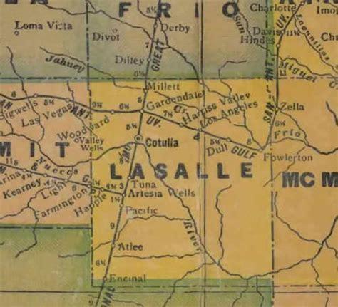 la salle county texas map la salle county texas