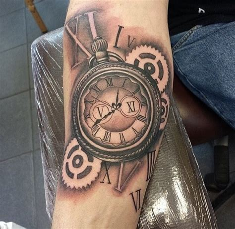 stopwatch tattoo steunk stopwatch tatto dreams