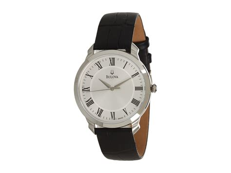 bulova mens dress 96a133 at zappos