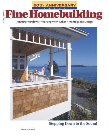 fine homebuilding magazine page 9 of 18 fine homebuilding