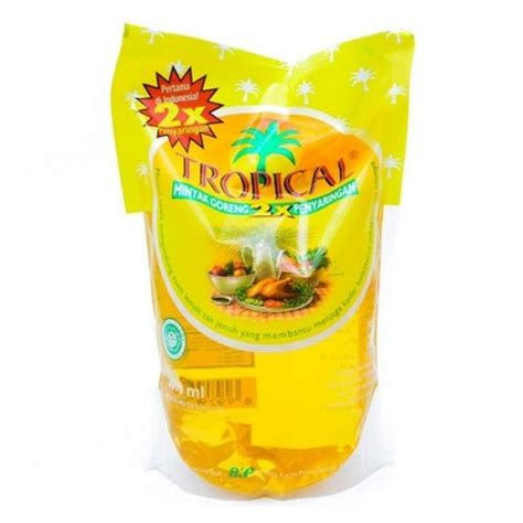 Minyak Goreng Tropical 500ml tropical minyak goreng refill 2 liter
