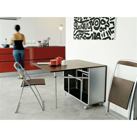 Kitchen Decorating Idea Designs Cr 233 Atifs De Table Pliante De Cuisine Archzine Fr