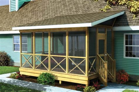 screen porch plans do it yourself doors windows how to build a screened in porch handy