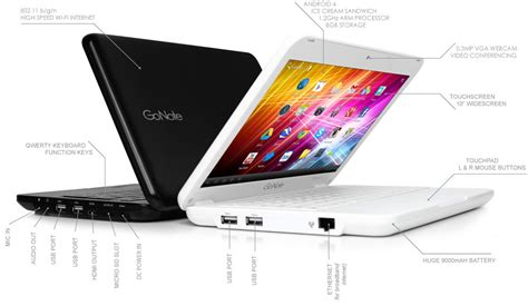 android notebook gonote is uk s touchscreen android netbook notebookcheck net news