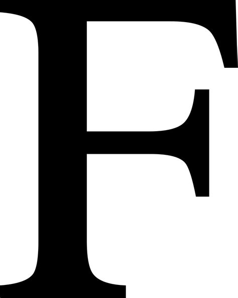 File Latin Letter Small Capital F Svg Wikimedia Commons